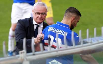 """Ranieri: """"Quagliarella-Juve? Sarebbe bel premio"""""""