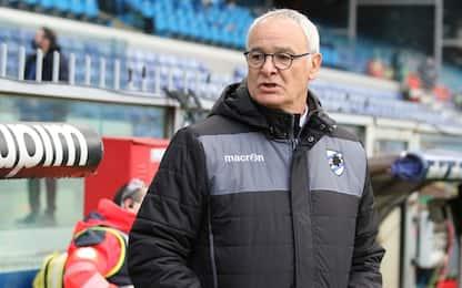 """Ranieri: """"Quagliarella out? Mercato non c'entra"""""""