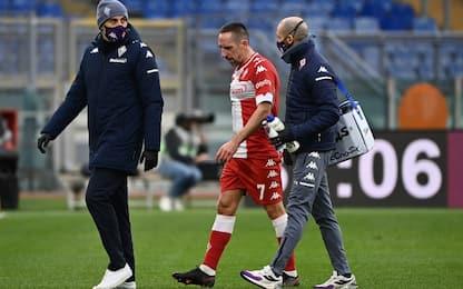 Sospiro di sollievo per Ribery: nessuna lesione