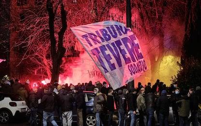 Lazio, tifosi in piazza per i 121 anni di storia