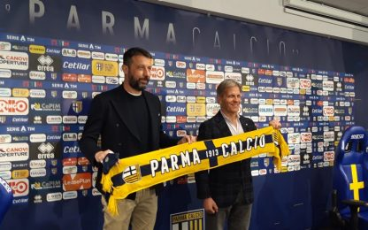 "Parma, D'Aversa: ""Tornato a casa, ora salviamoci"""