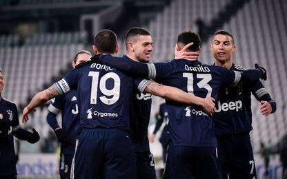 La Juve vince nel finale: Sassuolo ko 3-1 in 10