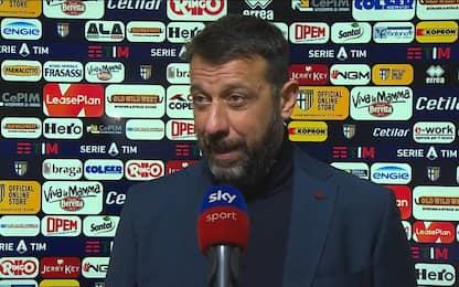 """D'Aversa: """"Abbiamo pagato errori di gioventù"""""""