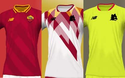 Roma cambia sponsor tecnico: ipotesi nuove maglie