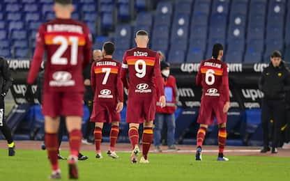 Roma da incubo con le big: 3 punti e 18 gol subiti