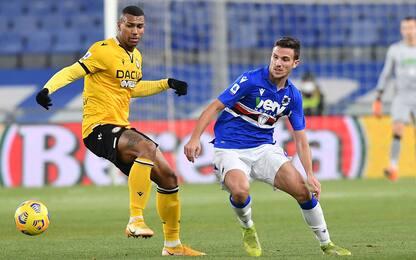 Sampdoria-Udinese 2-1 LIVE: Torregrossa la ribalta