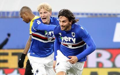 Torregrossa ribalta l'Udinese: 2-1 Samp a Marassi