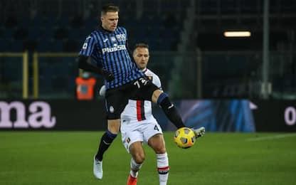 Atalanta-Genoa 0-0 LIVE: palo di Hateboer