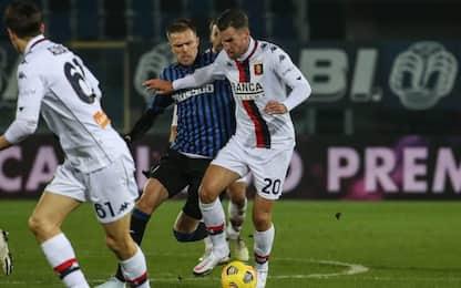 Muro Genoa, l'Atalanta non passa: 0-0 al Gewiss