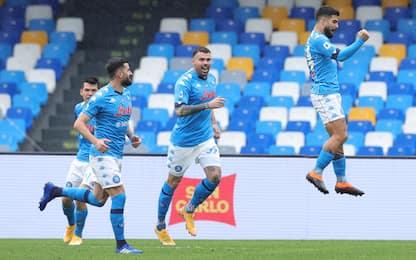 Napoli e Insigne show: Fiorentina battuta 6-0