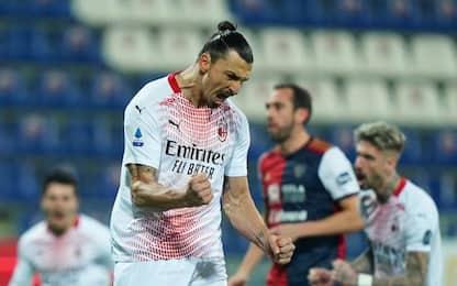 Cagliari-Milan 0-1 LIVE: Calabria colpisce il palo