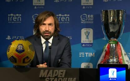 """Pirlo: """"Non siamo quelli visti con l'Inter"""""""