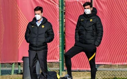 Roma, sollevati due dirigenti: confermato Fonseca