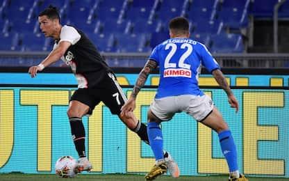 Juventus-Napoli, le probabili formazioni