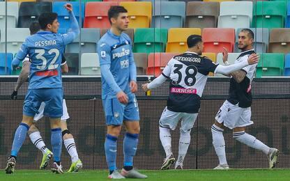 L'Atalanta manca il 3° posto, 1-1 con l'Udinese