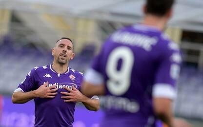 Probabili di Fiorentina-Crotone: fiducia a Ribery