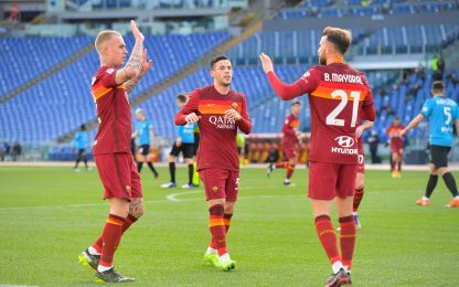 Roma-Spezia 3-2 LIVE: Carles Perez se lo divora