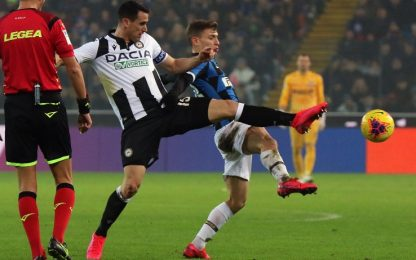Udinese-Inter, dove vedere la partita in tv