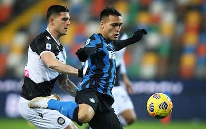 Udinese-Inter 0-0 LIVE: Musso super su Lautaro