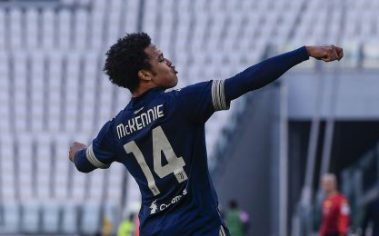 McKennie, esultanza alla Zorro? No, è Harry Potter