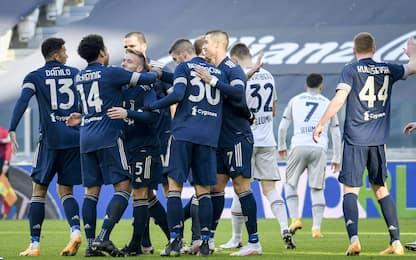 Arthur-McKennie, la Juve batte il Bologna 2-0