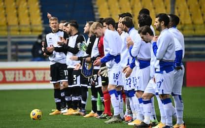 Parma-Samp 0-0 LIVE: Colley salva a porta vuota