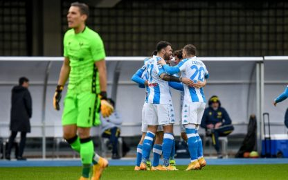"Verona-Napoli 0-1 LIVE, Lozano in gol dopo 9"""