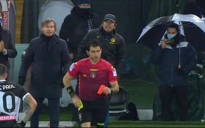 Giudice sportivo: 2 giornate a Conte, 1 a Oriali