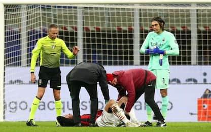 Milan, problemi muscolari per Kjaer e Brahim Diaz