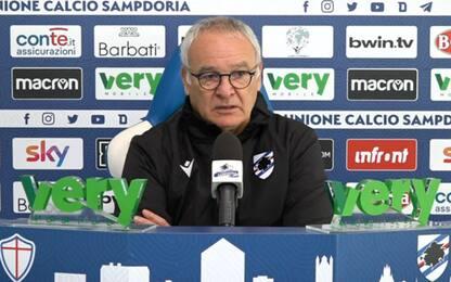 """Ranieri: """"Con la Juve servono serenità e fortuna"""""""