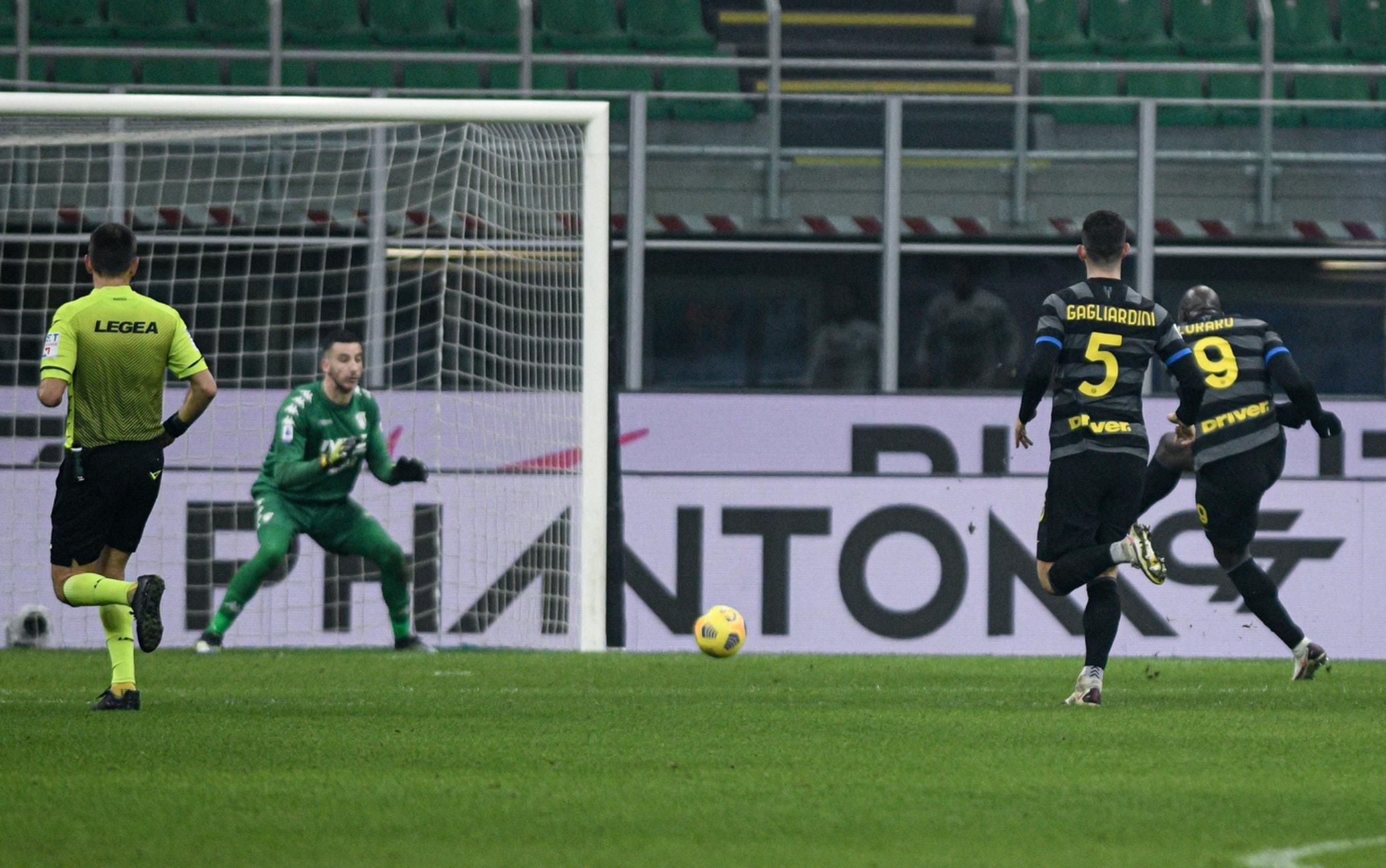 Lukaku in Inter-Benevento
