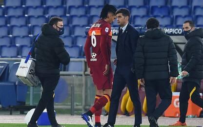 Lesione al flessore, Smalling salta la Juventus
