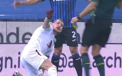 Fair-play Belotti, fa togliere il giallo a Romero