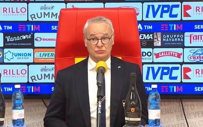 """Ranieri: """"Pareggio ok, ma non sono contento"""""""