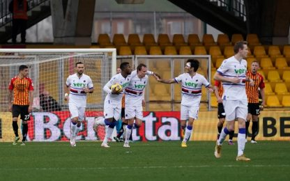 Keita risponde a Caprari: Benevento-Samp 1-1