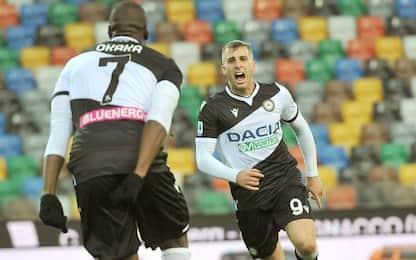 L'Udinese vola con super Deulofeu: 2-0 al Verona