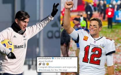 Dybala chiama, Brady risponde: siparietto social