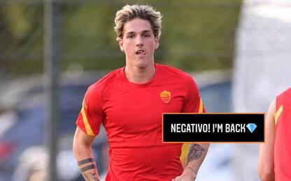 """Zaniolo esulta sui social: """"Negativo. I'm back!"""""""