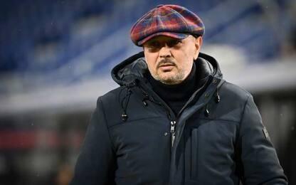 """Mihajlovic: """"Noi male"""", Inzaghi: """"Gran partita"""""""