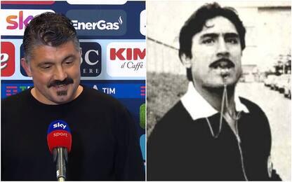 """Gattuso: """"Baffi? Colpa di Fiori, sembro Buzzanca"""""""