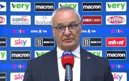 """Ranieri: """"Quagliarella? Simbolo per i giovani"""""""