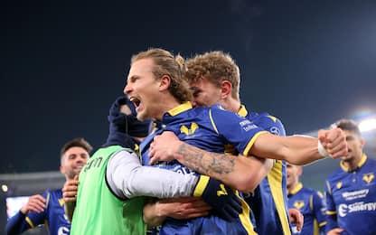 Il Verona ribalta il Parma 2-1, decide Barak