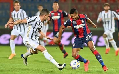 Juventus-Crotone, dove vedere la partita in tv