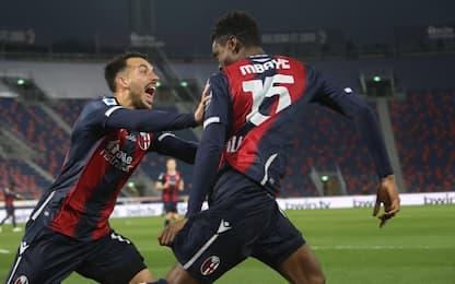 Lazio ko a Bologna: 2-0, decidono Mbaye e Sansone