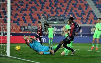 Bologna-Lazio 1-0 LIVE: gol di Mbaye