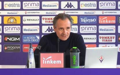 """Prandelli: """"Voglio vedere una Fiorentina operaia"""""""