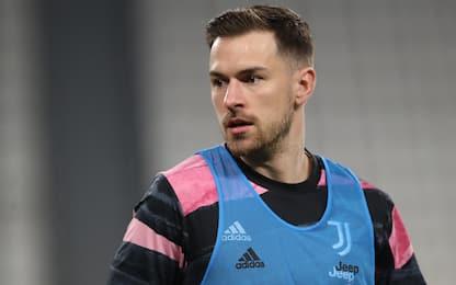 Verona-Juve LIVE: Ramsey in mezzo nel 3-5-2