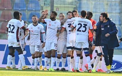 Il Cagliari torna a vincere, Viola ko 1-0 a Udine
