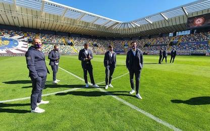 Udinese-Fiorentina, Crotone-Cagliari: le ufficiali