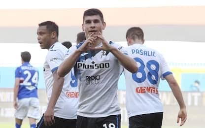 L'Atalanta si rialza: 2-0 alla Samp, aggancio Juve